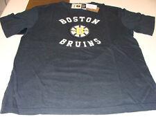 Boston Bruins SS Applique CCM Reebok T Shirt NHL M