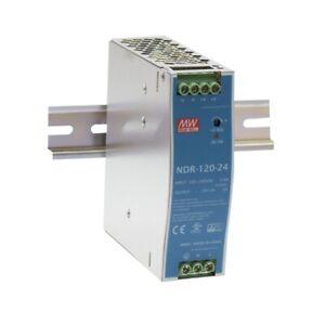 Schalt-Netzteil 12V 10A 120W für Hut-Schiene DIN-Rail NDR-120-12 von Meanwell