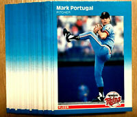 1987 Fleer Glossy #548 MARK PORTUGAL RC ~  20 CARDS LOT ~ ROOKIE CARD