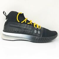 Under Armour Mens Project Rock 1 3020788-001 Black Basketball Shoes Size 13