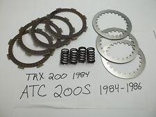HONDA ATC 200 S 1984-1986 / TRX 200 1984  CLUTCH REBUILD KIT NEW