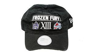 LA Kings Avalanche Frozen Fury New Era Adjustable Buckle NHL Hockey Hat Men Cap