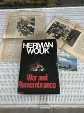 War and Remembrance by Herman Wouk: 1978 1st Edition