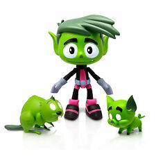 Teen Titans Go Beast Boy With Animal Accessories Action Figure New Toys