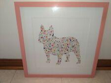 Carly Rae Framed French Bulldog Art New