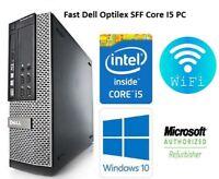 Dell Optiplex  SFF Intel Core i5 3RD Gen 8 GB RAM  2TB HDD DVD ROM Window10 Wifi
