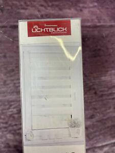 Doppelrollo Duo Rollo Klemmfix LICHTBLICK, Lichtschutz ohne Bohren weiß 100x150