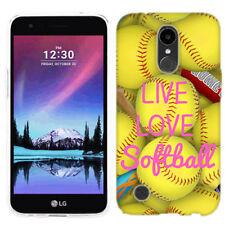 For LG Harmony Love Softball Case Skin Cover