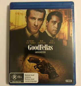 Goodfellas Blu-ray - 2 Disc 25th Anniversary Remaster - New & Sealed