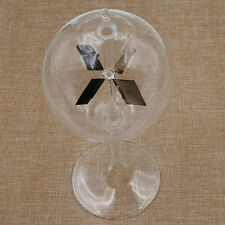 Crookes Radiometer Spinning Vanes Glass Light Mill Educational Home Office Decor
