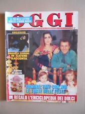 OGGI 1/2 1992 Albano Romina Power Francesco Nuti Oriana Fallaci Bonaccorti [G767