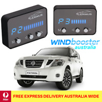 Windbooster throttle controller to suit Nissan Patrol Y62 2010 Onwards