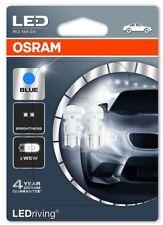 SET 2X OSRAM W5W LED LIGHT BULB 12V BLUE