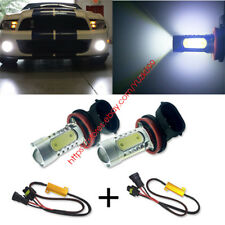2x LED Fog Lights Lamps For Benz W211 W212 W164 W221 BMW E71 X6 E70 X5 E83 X3