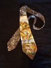 Mens Smoothie Supreme Ed Cornells Deer Themed Tie
