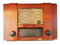 Schönes Röhrenradio Graetz 79W/M; Bastler; um 1950
