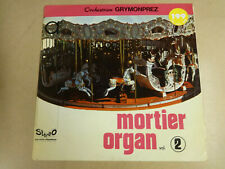 ORGAN ORGUE ORGEL LP / MORTIER ORGAN GRYMONPREZ VOL.2