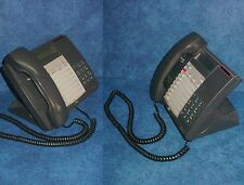 Lot of 2 Mitel Superset 4015 Office Phones For SX-200 System w/handset