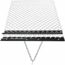 Vevor 4x5 Drag Harrow Grading Leveling Drag Mat Steel Mesh Atv Lawn Chain Rake