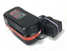 BLACK+DECKER 18V Slide Pack Battery HPB18-OPE + Genuine B+D Charger Adapter