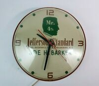 Vintage Jefferson Standard Insurance Co. Greensboro North Carolina GE Wall Clock
