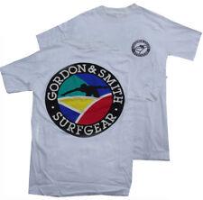 G&S / Gordon & Smith Vintage Surf Tee Shirt - vintage '80s Surfing Retro - M -CR