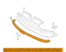Chevrolet GM OEM 98-04 S10 Grille Grill-Molding Trim 12470331