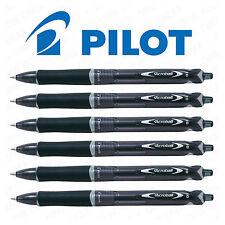 6 X Pilot Acroball Bolígrafo Retráctil Tinta Negra Mediano 1.0mm