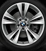 "BMW OEM  X3 and X4  19""x9.5"" LA Wheel M Dbl. Spoke  St. 309 Wheels Set of 4"