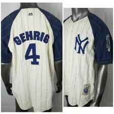 641798645 Lou Gehrig New York Yankees MLB Jersey Cooperstown Collection by Mirage  Size XL