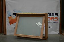 Timber Awning Window 596h x 765w - 6.38mm White Trans Lam (BRAND NEW IN STOCK)