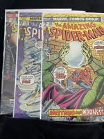 AMAZING SPIDER-MAN  Lot of (3) #s142-144.🔑issues.