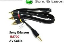 Genuine Sony Ericsson Im700 3.5mm Tv / Video Cable for Vivaz Xperia X1 Xperia X2