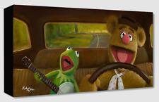 Disney Fine Art Treasures On Canvas Collection Movin' Right Along-Mupets-Kaz