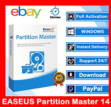 EASEUS Partition Master 14.5 ™ 🔥 license key 🔥 Professional 🔥 24h delivery 🔥