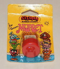 1984 *Vintage* STAMPOS Rubber Stamps Muppets Babies: Baby Gonzo R8054