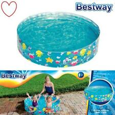 Childrens Toddler Rigid Snapset Paddling Swimming Pool Garden Play