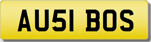 AU AUS 1 THE BOSS!!  AUSSIE AUSTIN Private CHERISHED Registration Number Plate