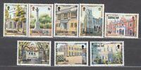 Gibraltar - Mail 1995 Yvert 736/43 MNH Architecture