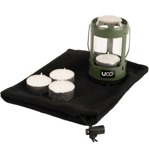 UCO Mini Candle Lantern 4 Hour Kit 2.0 Power Green Tealight & Bag Inc.