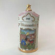 Lenox Porcelain 1995 Walt Disney Collection Horseradish Spice Jar Goofy Dog