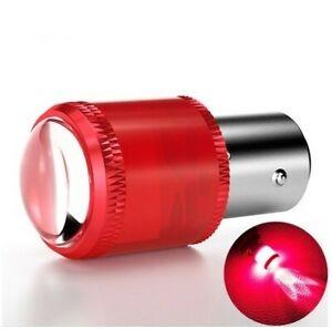 Ampoule BAY15D LED Rouge P21/W5 pour Veilleuse frein stop Voiture 9 SMD 1157