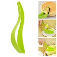 Hot Cake Pie Slicer Sheet Guide Cutter Server Bread Slice Kitchen Gadget NW