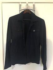 Armani Exchange Navy Button Sweater - Mens Medium