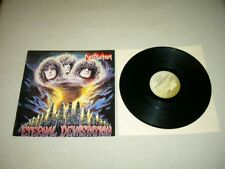 DESTRUCTION --- very rare original 1986 ETERNAL DEVASTATION LP!!  thrash black