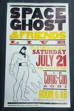 SPACE GHOST Hatch Show Print ADULT SWIM tv Cartoon Network Comic-Con 2001 Poster