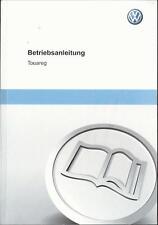 VW   TOUAREG 2 Betriebsanleitung 2012 Bedienungsanleitung Handbuch Bordbuch BA Д
