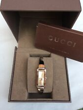 GUCCI 100% GENUINE LADIES WATCH MODEL 109  BOXED RRP £595