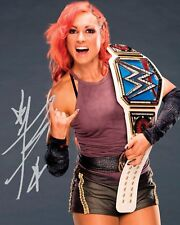 BECKY LYNCH #2 (WWE) - 10x8 PRE PRINTED LAB QUALITY PHOTO (SIGNED) (REPRINT)