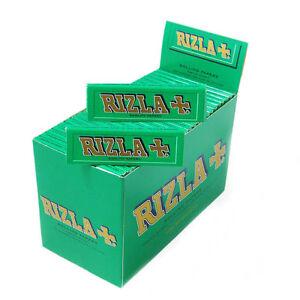 RIZLA GREEN CIGARETTE ROLLING  PAPERS 50  Booklets  ORIGINAL GENUINE